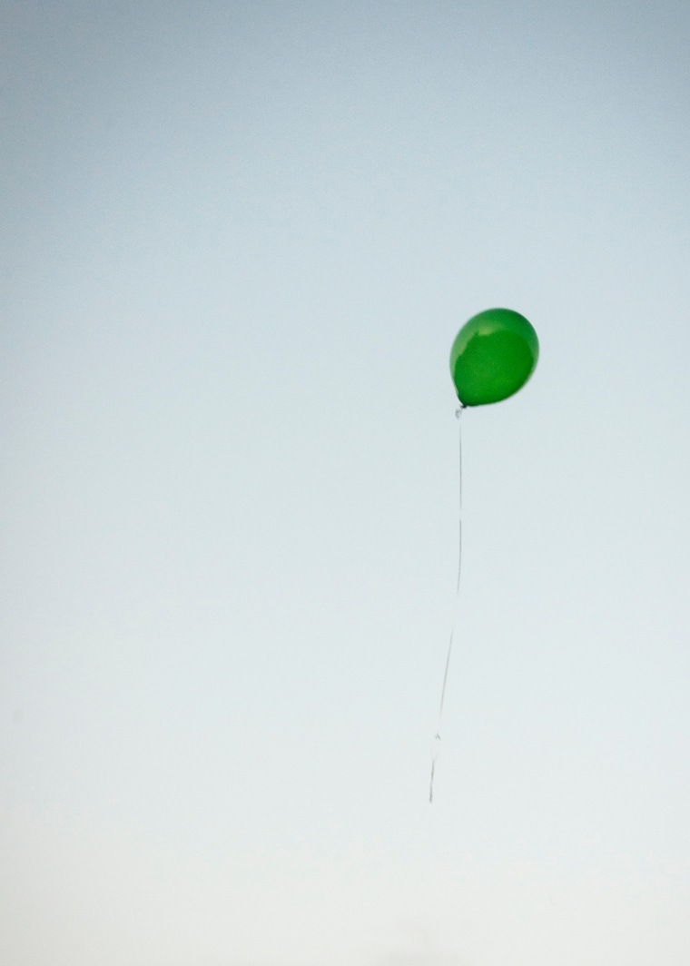 Remembering Saxon Green Balloon Noelle Bell Photography Knoxville TN Memory Making
